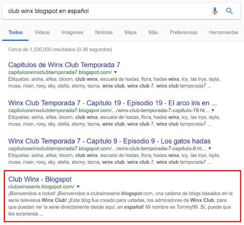 Mi antiguo blog! ¡Sobre Winx Club! - Learn Spanish - italki Notebook